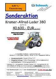 Sonderaktion - scheuch-baumaschinen.com