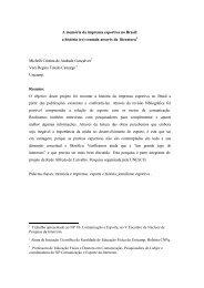 A memória da imprensa esportiva no Brasil: a história (re) contada ...