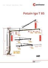 Potain Igo T 85 - scheuch-baumaschinen.com