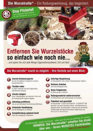 Wurzelratte - scheuch-baumaschinen.com