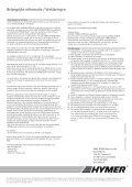HYMER Car Prijsinformatie - Page 4