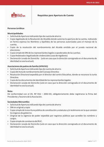 Requisitos para sacar prestamo caja municipal arequipa - Como solicitar un prestamo hipotecario ...