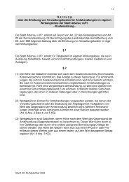 Kommunales Kostenverzeichnis (Kommkvz) - Stadt Alzenau
