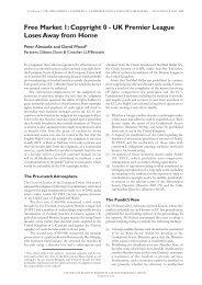 Free Market 1: Copyright 0 - Gibson, Dunn & Crutcher LLP