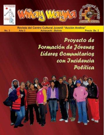 Descargar Revista en PDF - Centro Cultural Juvenil Acción Andina
