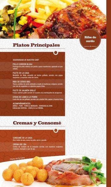 Platos Principales Cremas y Consomé - 82grados