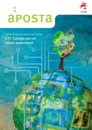 CTT. Consigo por um futuro sustentável