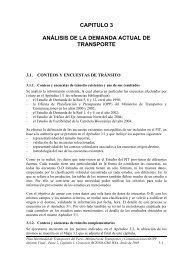 Capítulo 3. Análisis de la demanda actual de transporte.