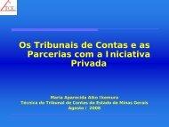 Os Tribunais de Contas e as Parcerias com a ... - Unidade PPP