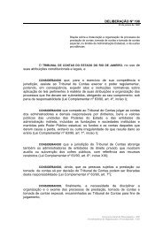 Deliberação TCE 198/1996 - Secretaria de Estado de Cultura