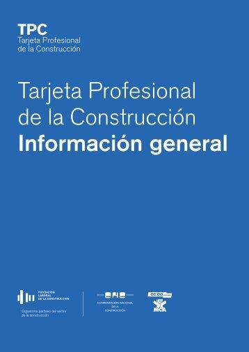 Tarjeta Profesional de la Construcción - Campo Lameiro