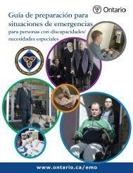 Guía de preparación para situaciones de emergencias - Emergency ...