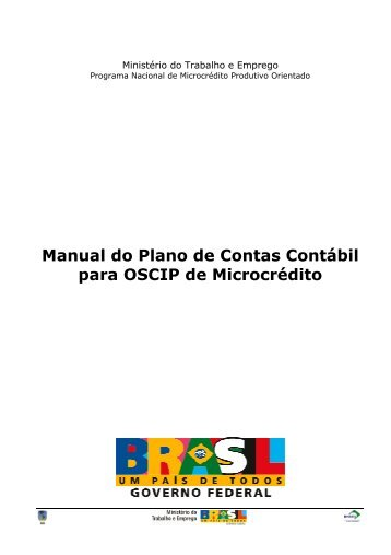 Manual do Plano de Contas Contábil - Marca do Governo Federal ...