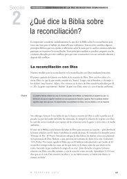 Sección 2 - ¿Qué dice la Biblia sobre la reconciliación