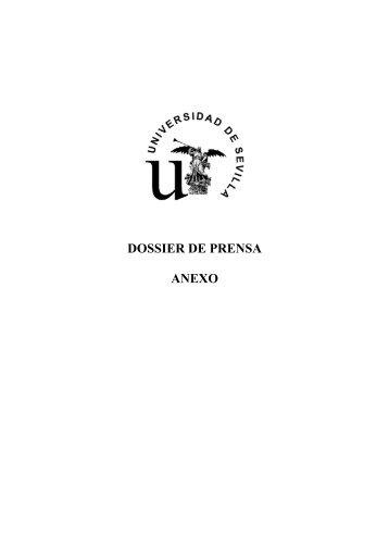 Anexo Dossier de prensa 6-7-diciembre - Universidad de Sevilla