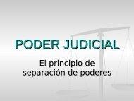 PODER JUDICIAL - OCW Usal