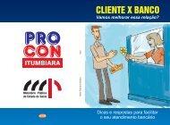 CLIENTE X BANCO - Ministério Público do Estado de Goiás