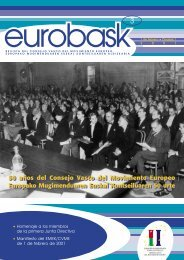50 años del Consejo Vasco del Movimiento Europeo Europako ...
