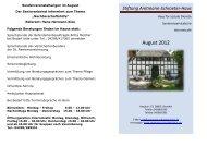 Stiftung Amtmann-Schroeter-Haus