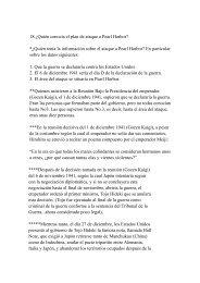 18.¿Quién conocía el plan de ataque a Pearl Harbor ... - Casa Asia