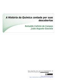 A História da Química contada por suas ... - CCEAD PUC-Rio
