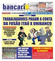 TRABALHADORES PAGAM A CONTA DA FUSÃO ITAÚ X UNIBANCO