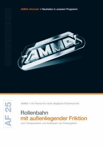 AF 25 Zubehör - AMMA Alfred Müller Gmbh & Co. KG