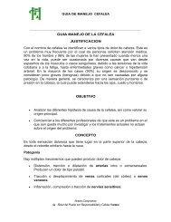 GUIA MANEJO DE LA CEFALEA JUSTIFICACION Con el nombre ...