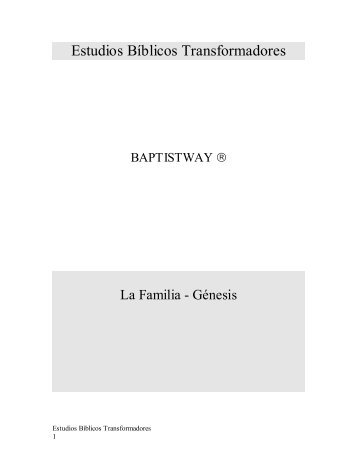 Estudios - BaptistWay Press