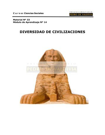 DIVERSIDAD DE CIVILIZACIONES - Sala de Historia