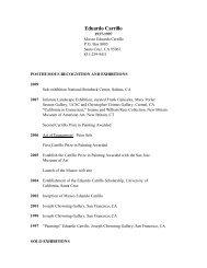 download pdf version - Museo Eduardo Carrillo