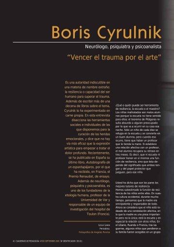 Entrevista a Cyrulnik, Cuadernos de Pedagogía_pdf