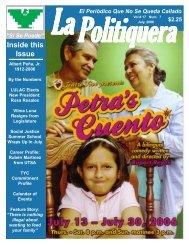 La Politiquera, July, 2006.pmd