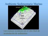 Ambiente Sedimentario Marino - UNAM