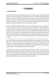 Tema 5: El Cemento - OCW Usal