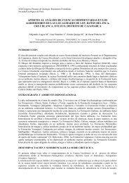 aportes al análisis de cuencas sedimentarias en los ... - Ingemmet