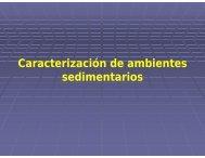 Caracterización de ambientes sedimentarios - UNAM