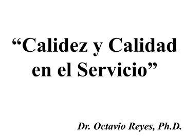 6- Calidez y Calidad en el Servicio