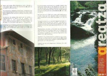Impresión de fotografía de página completa - Senderismo Euskadi