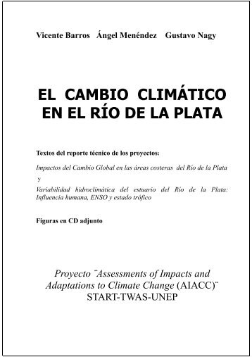 Texto del libro - Centro de Investigaciones del Mar y la Atmosfera ...