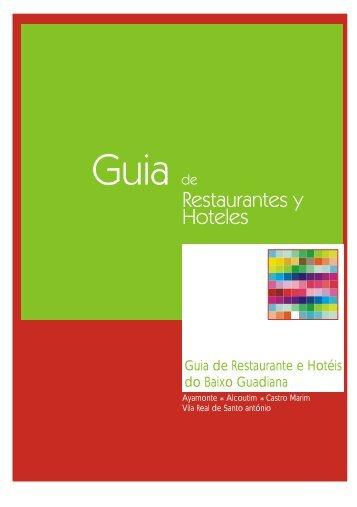 Guia de Restaurante e Hotéis do Baixo Guadiana - Odiana