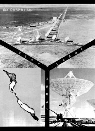 Volume 22, number 1, January 1981 - National Radio Astronomy ...