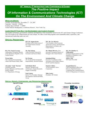 Conference Brochure & Schedule - AIT Global