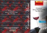 carta de platos y vinos participantes concurso - Federacion Nacional ...