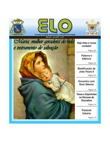 Maria, mulher geradora de vida e instrumento de salvação