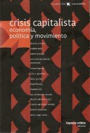 CRISIS CAPITALISTA, ECONOMÍA, POLÍTICA Y MOVIMIENTOS ...