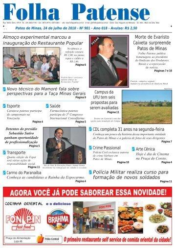 nº 901 - Folha Patense