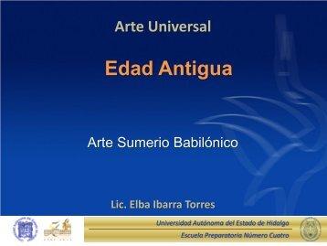 Edad Antigua - Universidad Autónoma del Estado de Hidalgo