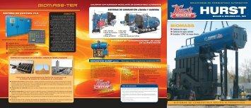 Calderas de vapor Calderas de agua caliente ... - Hurst Boiler
