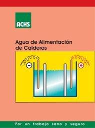 Agua de alimentación - ACHS